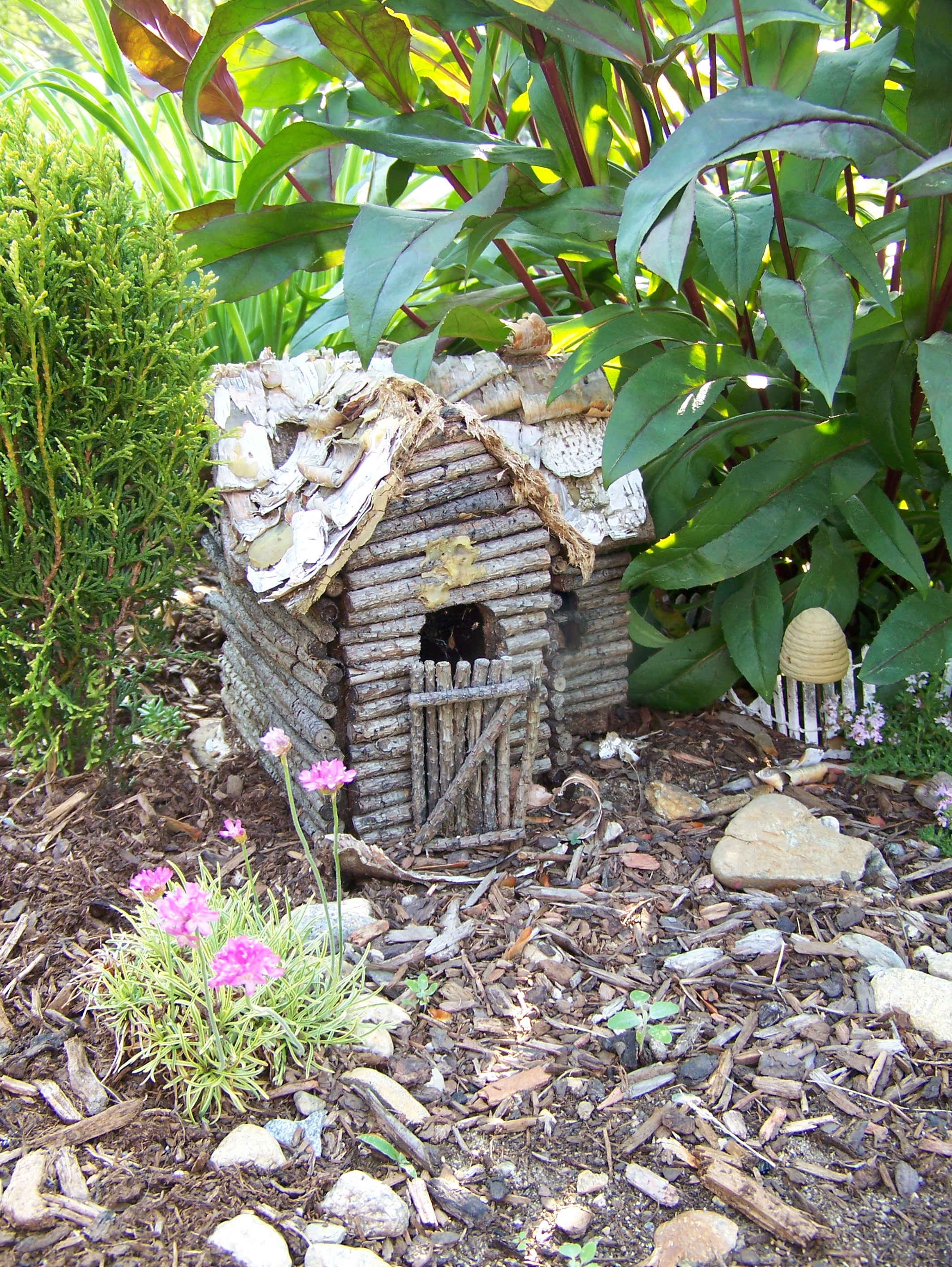 Fairy garden garden in the burrow Small garden fairies